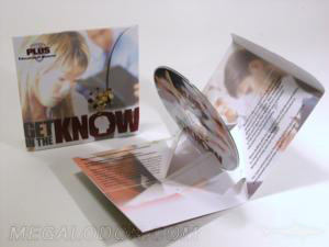 cd popup paks- cd stand up, 3D cd packaging