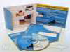 4panel cd mailer, Com. for Children - shows one type of the many types of thumbnotches available